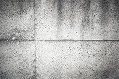 Old dark gray concrete wall background texture Stock Image
