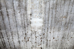 Old dark gray concrete wall perspective Stock Photo