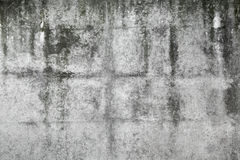 Old dark gray concrete wall texture Royalty Free Stock Photo