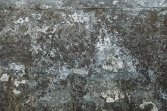Old dark grunge weathered concrete wall texture, vintage urban background. Toned Royalty Free Stock Photography