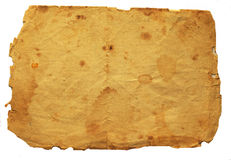 Old dark paper texture. Background Royalty Free Stock Photography