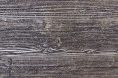 Old dark pine wood texture wall as texture or background.  Stock Image