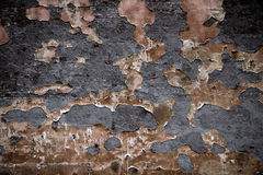 Old dark wall. Old colored dark and dirty wall Stock Image