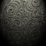 Old dark wallpaper. Dark wallpaper for background in vintage style Royalty Free Stock Photos