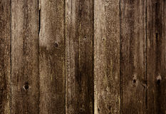 Old dark Wood Background Royalty Free Stock Image