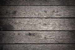Old dark wood background Stock Photography