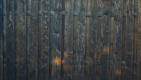 Old dark wood texture background Stock Photography