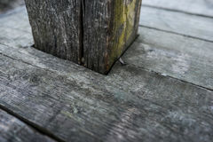 Old dark wood texture natural pattern wooden planks Royalty Free Stock Photography