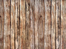 Old dark wood texture with natural patterns Stock Photography