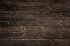 Old dark wooden background stock image
