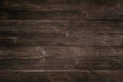 Old dark wooden background stock image
