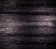 Old dark wooden board background, empty copy space Royalty Free Stock Photo