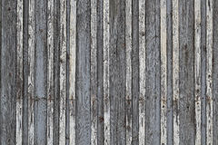 Old dark wooden fence Royalty Free Stock Image