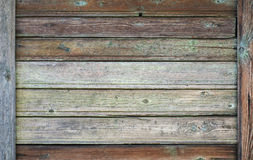 Old dark wooden wall, vintage texture Royalty Free Stock Photos