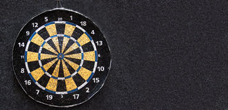Old dart board. Stock Photo