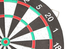 Old dartboard Stock Photo