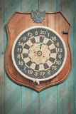 Old dartboard. Royalty Free Stock Photo