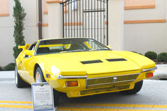 Old De Tomaso Pantera Car Stock Images