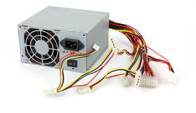Old dead computer power supply Stock Photography