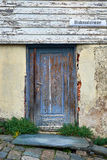 Old decayed wood door Royalty Free Stock Photography