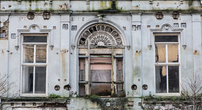 Old decaying abandoned vintage building architecture Royalty Free Stock Photography
