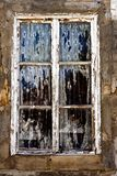 Old decaying window Stock Photography