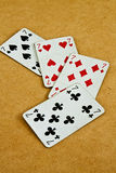 Old deck of cards Stock Photos