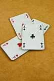 Old deck of cards Stock Photography