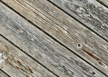 Old decking boards Stock Photography