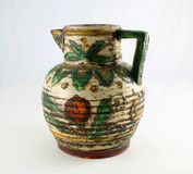 Old Decorated Jug Stock Image
