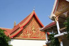 Details of Buddhist temple Wat Sisaket,Vientiane,Laos Stock Images