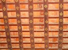 Ancient decorations in temple Wat Xieng Thong, Luang Prabang, Laos Stock Photos