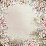 Old decorative background Stock Images