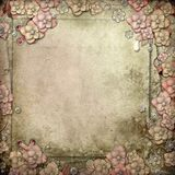 Old decorative background Royalty Free Stock Photos