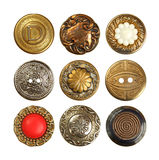 Old decorative button Stock Photos
