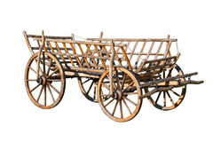 Old decorative cart Royalty Free Stock Image