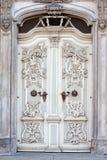 Old decorative door Stock Images