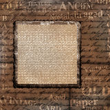 Old decorative frame background Stock Photography