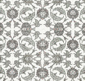 Old decorative ornament background Stock Images