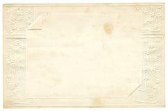 Old decorative paper Stock Photos