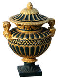 Old decorative vase Stock Photography
