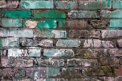 Old defense wall colour bricks Royalty Free Stock Images