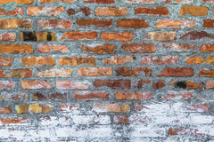 Old Defense Wall Red Bricks Stock Photos
