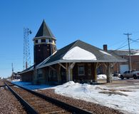 Old Dekalb Railroad Depot Stock Images