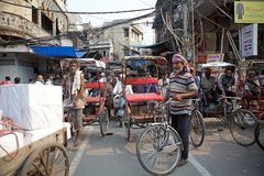 Old Delhi, India Stock Images