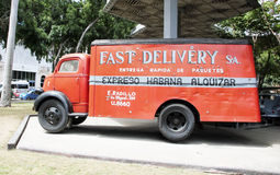 Old Delivery Truck Royalty Free Stock Photo