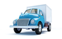 Old delivery truck Stock Photos