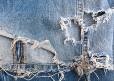 Old Denim Background Royalty Free Stock Photos