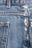 Old Denim Background Royalty Free Stock Photo