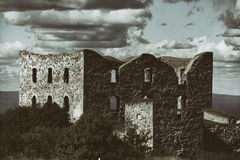 Old derelict castle ruin Royalty Free Stock Photography